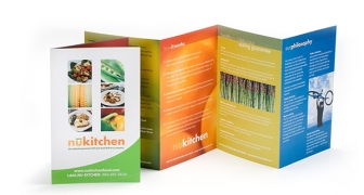 Accordion Fold Brochure