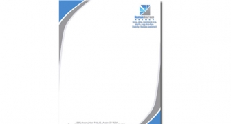 Single Sided Business Letter Head